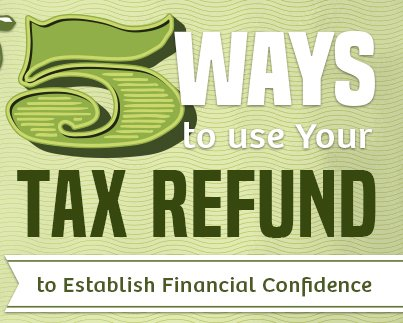 5 Ways to Use Your Tax Refund to Establish Financial Confidence
