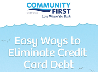 Easy Ways to Eliminate Credit Card Debt