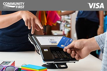 Community First Credit Union Launches Contactless Credit Card