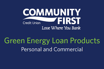 Community First Credit Union and U.S. Green Chamber Launch Green Loans Program