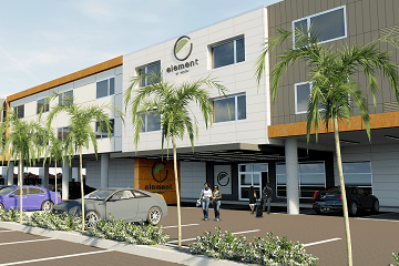 Community First Credit Union Funds Jacksonville Beach Hotel Construction